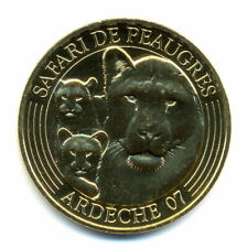 07 PEAUGRES Lionne et lionceaux, 2021, Monnaie de Paris