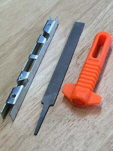 Chainsaw Chain Raker Depth Gauge, Flat File  & Handle Suitable STIHL Chainsaws