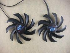85mm Dual-X Fan FD7010H12S Fr Sapphire HD7870 7950 7970 270X 280X 290 Video Card