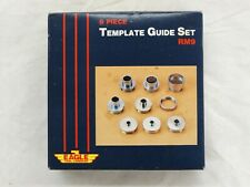RM9 Eagle Tool Co. 9 Piece Router Template Guide Set