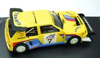 Peugeot 205 T16 Rally Pikes Peak Camel - Spirit working slot car STP400507