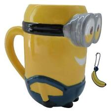 Despicable Me - Minion Kevin Shaped Mug And Charm New & Official In Display Box