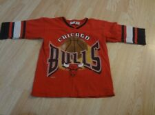 Youth Chicago Bulls M (5/6) Vintage L/S T-Shirt Tee Team Rated