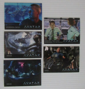 AVATAR NA'VI LIMITED EDITION PROMO CARDS – FULL SET of 25.