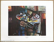 Isaac Pailes Nature Morte Rare Vintage 1st Printing 1960s Lithograph