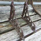 2pcs Cast Iron Antique Style Brackets Garden Braces Rustic Shelf Bracket