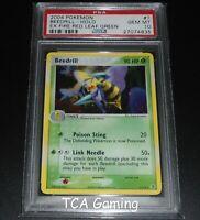PSA 10 GEM MINT Beedrill 1/112 Ex Fire Red & Leaf Green HOLO RARE Pokemon Card