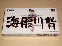 Umihara Kawase (Super famicom,1994) japan sfc snes boxed rare