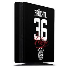 Sony Playstation 4 PS4 Slim Folie Aufkleber Skin Früchtl #36 FC Bayern München