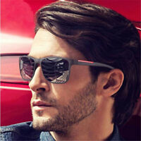 Brand Design UV Sunglasses Men Driving Sun Glasses Vintage Retro Mirror Goggle
