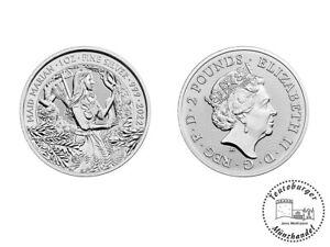 Großbritannien 2 Pfund 2022 Mythen und Legenden (2) Maid Marian 1 Oz Silber ST