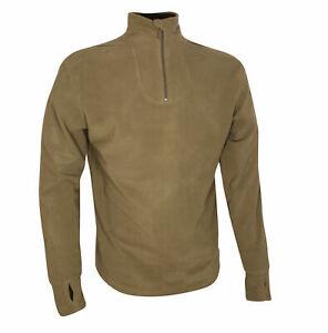 Original British Army Combat Undershirt Thermal, PCS Fleece Base Layer Jumper