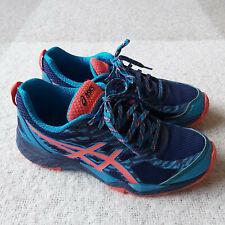 Womens Asics Gel Fuji Trabuco 5 Running Trail Shoes Trainers Size US 8.5 T6J5N