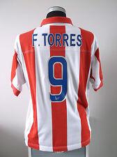 F. TORRES #9 Atletico Madrid centenario Calcio Casa Maglietta Jersey 2003/04 (L)