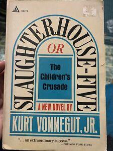 Slaughterhouse-Five by Kurt Vonnegut (1969) 1st ed. 11th print Vintage Softcover