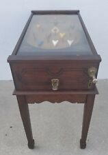 Pinball Machine Bagatelle Seeburg Antique Pin Table Vintage Mechanical Wood Rail
