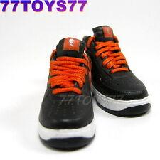 Sneaker 1/6 Sport Shoes SK9-21_ Half Orange, Half Black Fashion Footwear