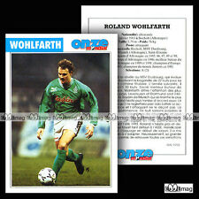 WOHLFARTH ROLAND (BAYERN MUNICH, SAINT-ETIENNE) - Fiche Football / Fussball 1994