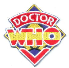 New Colorful Doctor DR WHO Punk Embroided Iron on Patch
