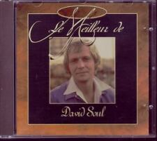 DAVID SOUL Le Meilleur DUTCH FRENCH CD  STARSKY & HUTCH