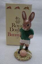 Royal Doulton Bunnykins Figure Footballer Db117 Limited Edition