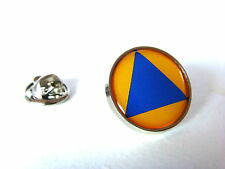 CIVIL DEFENCE PROTECTION ROUNDEL LAPEL PIN BADGE GIFT