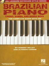 Keyboard Style Series Brazilian Piano Cha´ro Samba Bossa Nova Piano Music Book