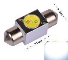 31mm High Power 1W LED SMD Festoon Dome Car Light Bulb Lamp 3243 6418 White 12V