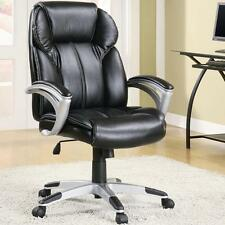Casual Contemporary Faux Leather Office Task Chair by Coaster 800038