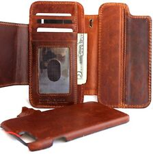 Genuine leather Case For apple iphone 6s plus book wallet cover magnetic 6 Retro