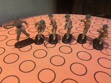 Britains Super Deetail British WWII, 6 figures. Various posses.