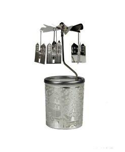 Tea Light Spinning Carousel - Houses -Gift/Home Decoration