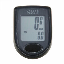 CATEYE Cycling CC-VL510 VELO5 Waterproof Bike Computer With 5 Functions Black