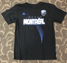 Montreal Impact Adidas GO-TO TEE Men's Shirt Size L Two-Sided Printing