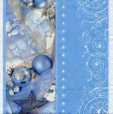 4 Servietten Motivservietten Decoupage Weihnachten Weihnachtskugeln (1236)