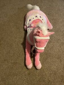 Animal Alley Rare Plush Pony Horse Toys R Us Large XL 5 Feet Long 60 in!!!!