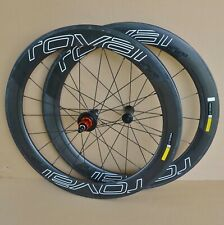 Specialized Roval CLX 64 Carbon Clincher Wheels Tubeless Ceramic Shimano 11S