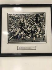 Paul Hornung Signed Autographed Framed Matted Notre Dame Picture Upper Deck COA