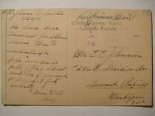 US Navy in Mediterranean.Squadron 2 Patrol force.1919.Ragusa,Officers mail