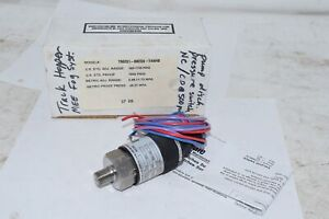 NEW BARKSDALE T96201-BB2SS-T4W48 96201 COMPACT PRESSURE SWITCH, SINGLE SETPOINT,