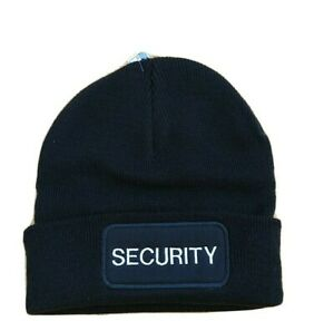 Security Beanie Patch Hat embroidered  - with Security