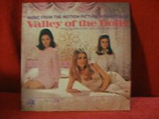 Valley of the Dolls Soundtrack Lp 1967 Sharon Tate Patty duke John williams