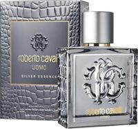 Roberto Cavalli Uomo Silver Essence Edt Eau de Toilette Spray 100ml NEU/OVP