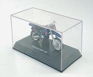 NIB New-Ray Suzuki RM125 Dirtbike Motocross Motorcycle 1:32 Diecast Model Bike