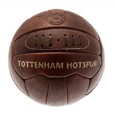 Tottenham HOTSPUR FC SPURS FOOTBALL patrimoine rétro en cuir marron style ancien neuf