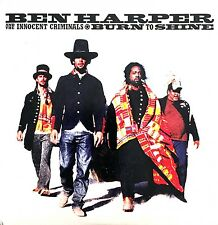 Ben Harper And The Innocent Criminals CD Burn To Shine - Promo - France (EX/EX+)