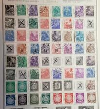 GERMANY DDR Stamp Lot Album Page T1041