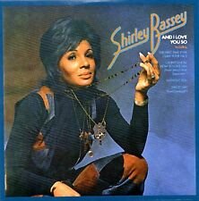 *NEW* CD Album Shirley Bassey - And I Love You So (Mini LP Style Card Case)