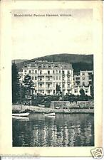cr 34  1923 Abbazia  Opatija (Croazia) - Strand Hotel Hammer  Viagg Form picc