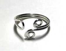 Sterling Silver Adjustable Toe Ring